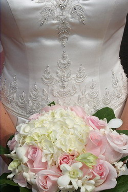 Bridal bouquet of Amy from Carlisle, Pennsylvania
